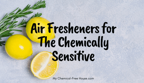 air fresheners, aroma, make a home smell nice, for the chemically sensitive