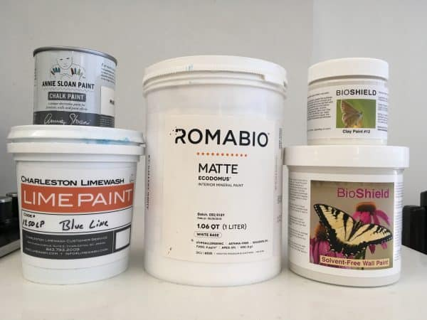 I test and compare, RomaBio, Annie Sloan chalk pain, clay paint, lime paint