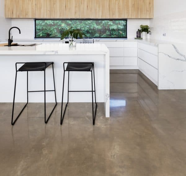non toxic polished concrete floor